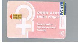 URUGUAY -   2006  LINE WOMAN  - USED  -  RIF. 10465 - Uruguay