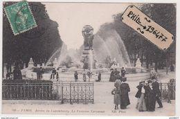 75 Paris - Cpa / Jardin Du Luxembourg - Fontaine Carpeaux. - Parchi, Giardini