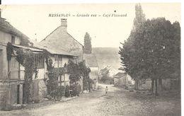 MESSANGES. GRANDE RUE. CAFE FLAMAND - Autres Communes