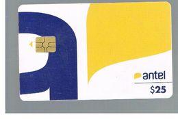 URUGUAY -   2010 NEW LOGO ANTEL - USED  -  RIF. 10465 - Uruguay