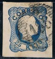 Portugal, 1856/8, # 12, Tipo I, Sobrosa, Used - Oblitérés