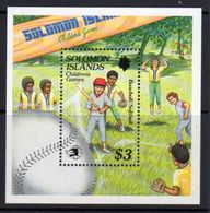 Solomon Islands 1989 Childrens Games MS, MNH, SG 661 (B) - Solomon Islands (1978-...)