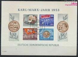 DDR Block9B Gestempelt 1953 Karl-Marx-Jahr (9158051 - DDR