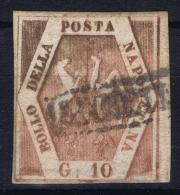 Napoli Sa 10 / 11  Mi Nr 5  Used Obl - Napoli