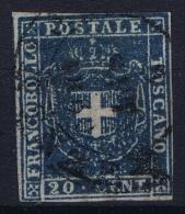 Toscana Sa 20 Mi 20 A Used Obl. 1860 - Toskana