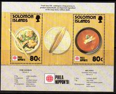 Solomon Islands 1991 Phila Nippon Stamp Exhibition MS, MNH, SG 712 (B) - Islas Salomón (1978-...)
