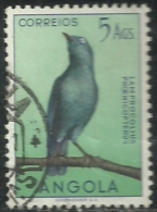 Angola 1951 Birds In Natural Colors A31 Red Shouldered Glossy Starling Canc - Passereaux