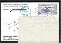 HK2- POLYNESIE FRANCAISE - CP VOYAGEE - Lettres & Documents