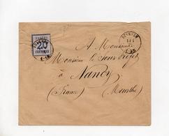 !!! PRIX FIXE : ALSACE-LORRAINE, LETTRE DE BOLCHEN POUR NANCY DU 1/4/1871 - Oorlog 1870