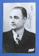 Musica - Autografo Dell'autore Rino Giglio - 1980 - Autografi