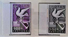 10 ANS DE L'O.T.A.N 1960 - NEUFS ** - YT 859/60 - MI 87/79 - BORDS DE FEUILLES - Nuevos