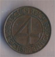 Deutsches Reich Jägernr: 315 1932 A Vorzüglich Bronze 1932 4 Reichspfennig Reichsadler (9157906 - [ 3] 1918-1933 : Weimar Republic
