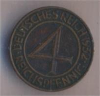 Deutsches Reich Jägernr: 315 1932 F Vorzüglich Bronze 1932 4 Reichspfennig Reichsadler (9157905 - [ 3] 1918-1933 : Weimar Republic