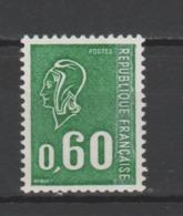 FRANCE / 1974 / Y&T N° 1815 ** : Béquet 60c Gravé (gomme Métropolitaine Avec PHO De Carnet) - Gomme D'origine Intacte - France