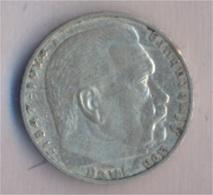 Deutsches Reich Jägernr: 366 1939 A Sehr Schön Silber 1939 2 Reichsmark Hindenburg (9157858 - 2 Reichsmark