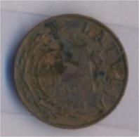 Lettland KM-Nr. : 10 1938 Sehr Schön Bronze 1938 1 Santims Wappen (9157962 - Latvia