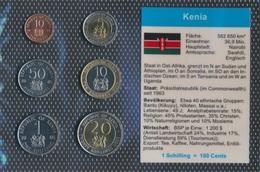 Kenia Stgl./unzirkuliert Kursmünzen Stgl./unzirkuliert 1995-1998 10 Cents Bis 20 Schilling (9031222 - Kenia