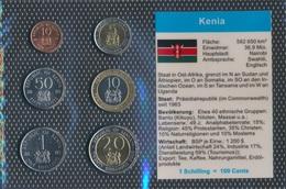 Kenia Stgl./unzirkuliert Kursmünzen Stgl./unzirkuliert 1995-1998 10 Cents Bis 20 Schilling (9031224 - Kenia