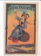 PUBLICITE : Biere Paillette Le Havre - Etat - Advertising