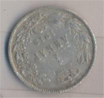 Serbien KM-Nr. : 25 1915 Typ 3 Sehr Schön Silber 1915 1 Dinar Peter I. Kehrprägung (9157927 - Serbien