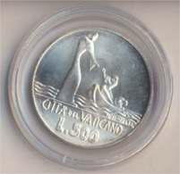Vatikanstadt KM-Nr. : 139 1978 Stgl./unzirkuliert Silber 1978 500 Lire Jesus Auf Dem Wasser (9157946 - Vatikan