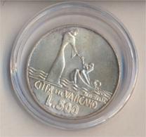 Vatikanstadt KM-Nr. : 139 1978 Stgl./unzirkuliert Silber 1978 500 Lire Jesus Auf Dem Wasser (9157947 - Vaticano (Ciudad Del)