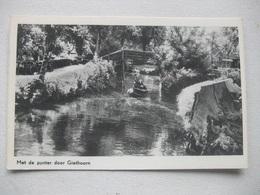 M45 Ansichtkaart Giethoorn - Punter - Giethoorn
