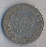 Kongo (Brazzaville) 1 1972 Sehr Schön Nickel 1972 100 Francs Antilopen (9157950 - Kongo (Dem. Republik 1998)