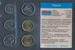 Fidschi-Inseln Stgl./unzirkuliert Kursmünzen Stgl./unzirkuliert 2012- 5 Cent Bis 2 Fidschi-Dollar (9031247 - Fiji