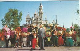 Disneyland - Card Sent To Denmark 1984. S-2381 - Disneyland