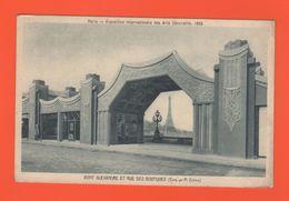 ET/171 PARIS EXPOSITION INTERNATIONALE DES ARTS DECORATIFS 1925 PONT ALEXANDRE ET RUE DES BOUTIQUES / écrite - Expositions