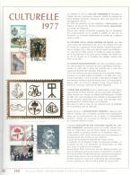 COB 1843/1848 Feuillet D'art Or Fin Limité à 500 Exemplaires (Lot FN) - Herdenkingskaarten