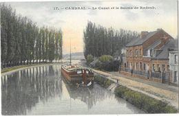 CAMBRAI (59) Canal Et Bassin De Radoub Peniche - Cambrai