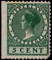 ~~~ Netherlands 1926 - Veth Links Ongetand  - NVPH 177 * MH OG CV -.- ~~~ - Periode 1891-1948 (Wilhelmina)