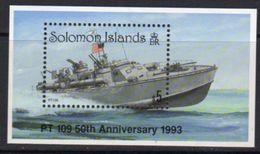 Solomon Islands 1993 PT 109, John F Kennedy MS, MNH, SG 779 (B) - Solomon Islands (1978-...)