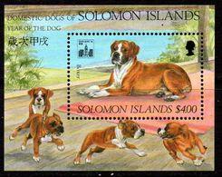 Solomon Islands 1994 Dogs MS, MNH, SG 791 (B) - Solomon Islands (1978-...)