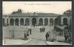 CPA - VERSAILLES - La Gare De La Rive Droite, Animé - Attelages - Versailles