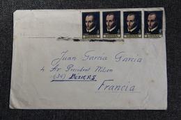 Lettre D'ESPAGNE Vers FRANCE - 1961-70 Cartas