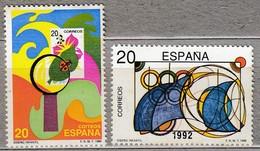 SPAIN ESPAGNE 1989 MNH(**) Mi 2867-2868 #22157 - 1931-Aujourd'hui: II. République - ....Juan Carlos I