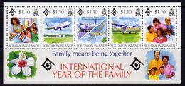 Solomon Islands 1994 International Year Of The Family MS, MNH, SG 811 (B) - Solomon Islands (1978-...)