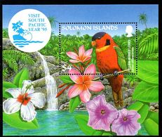Solomon Islands 1995 Visit South Pacific Year MS, MNH, SG 826 (B) - Solomon Islands (1978-...)