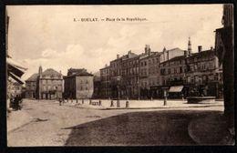 BOULAY  (Moselle) Place De La République - Boulay Moselle