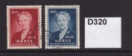 Norway 1956 Crown Princess Martha Memorial Fund - Gebraucht