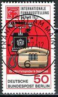 Berlin - Mi 549 - Zentrisch OO Gestempelt (D) - 50Pf     Funkausstellung 77 - Gebruikt