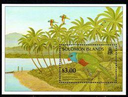 Solomon Islands 1996 Birds MS, MNH, SG 855 (B) - Solomon Islands (1978-...)