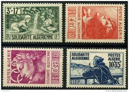 Algerie (1946) N 249 à 252 * (charniere) - Algérie (1924-1962)