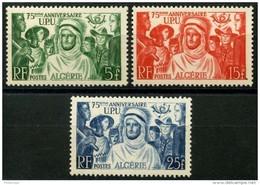 Algerie (1949) N 276 à 278 * (charniere) - Algérie (1924-1962)