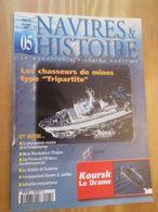 REVDIV14-1 Revue NAVIRE ET HISTOIRE N°5  , Valait 69 FF  En Kiosque , Le Sommaire De Cette Revue Est En Photo 2 - Bateau