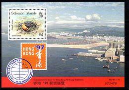 Solomon Islands 1997 Hong Kong Exhibition MS, MNH, SG 874 (B) - Solomon Islands (1978-...)