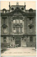 CPA 75 Paris L'ecole Centrale Animé Calèche - Enseignement, Ecoles Et Universités